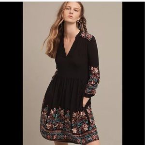 Anthropologie Floreat Avery Dress Sz Small